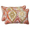 Pillow Perfect™ Montrese Outdoor 2-Piece Lumbar Throw Pillow Set - Multicolored