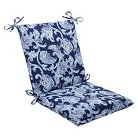 Pillow Perfect™ Lahaye  Outdoor Squared Edge Chair Cushion - Blue