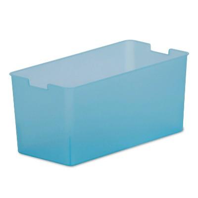 Itso Plastic Quarter Bin - Gray