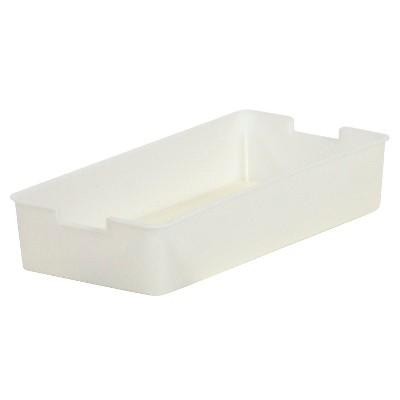 itso Plastic Storage Quarter Bin - White