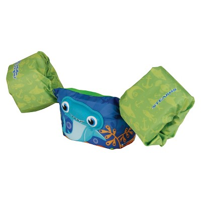 Stearns® Puddle Jumper 3D Life Jacket - Blue/Green Shark