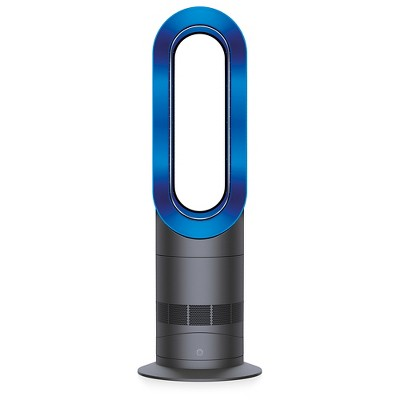 Dyson AM09 Hot + Cool Fan Heater – Iron/Blue