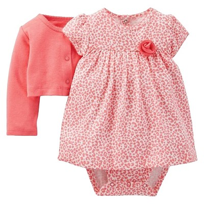 Just One You™ Made By Carter's® Newborn Girls' Dress - Pink 9 M