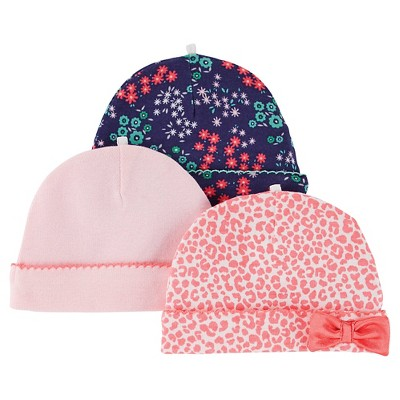 Just One You™ Made By Carter's® Girls' 3 pack Cap - Multiprint