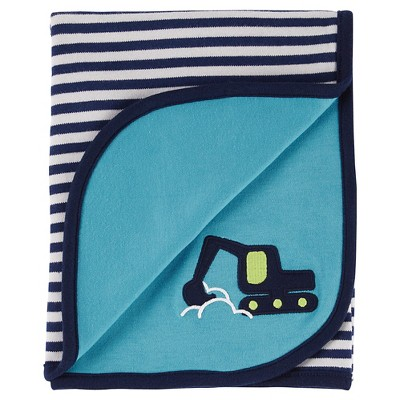Baby Blanket Just One You Undersea Blue