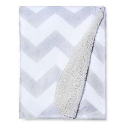Valboa Baby Blanket - Gray Chevron - Circo™