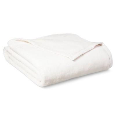 Threshold™ Fuzzy Blanket - Cream (Twin)
