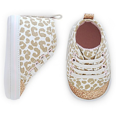 Just One You™ Made By Carter's® Newborn Girls' Sneaker - Multi-colored 2