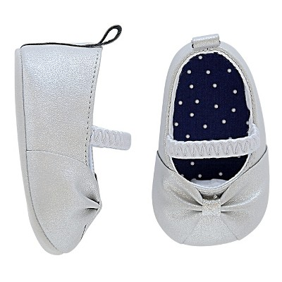 Just One You™ Made By Carter's® Newborn Girls' Mary Jane Shoe - Gray 2