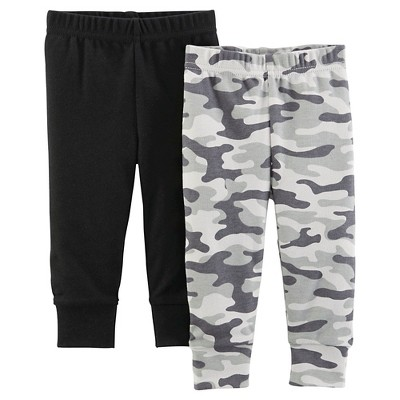 Just One You™ Made By Carter's® Newborn Boys' 2-Pack Trouser Pant - Camouflage 3 M