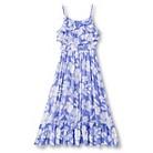 Girls' Woven Challis Maxi Dress