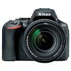 Nikon D5500 24.2MP Digital SLR Camera with 18-140mm VR Lens - Red