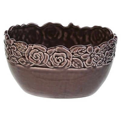 Drew Derose Decorative Container - Brown