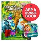 Interactive Storybook Incredebooks - Goldilocks and Three Bears book & Moshi Coloring Book