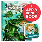 Interactive Storybook Incredebooks - Jack and the Beanstalk Book & Moshi Coloring Book