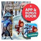 Interactive Storybook Incredebooks - Red Riding Hood Storybook & Moshi Coloring Book