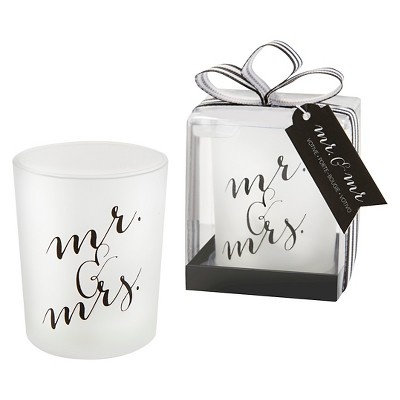 Kate Aspen Classic Mr. and Mrs. Votive - Set of 12