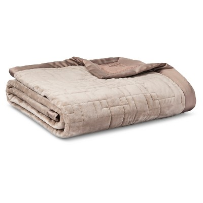 Fieldcrest® Luxury Blanket - Beige (Queen)