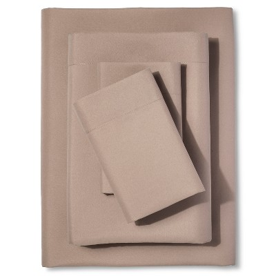 Twin Microfiber Sheet Set - Silver Mink - Room Essentials™