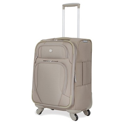 Swiss Gear Lugano Lightweight Luggage Khaki 20