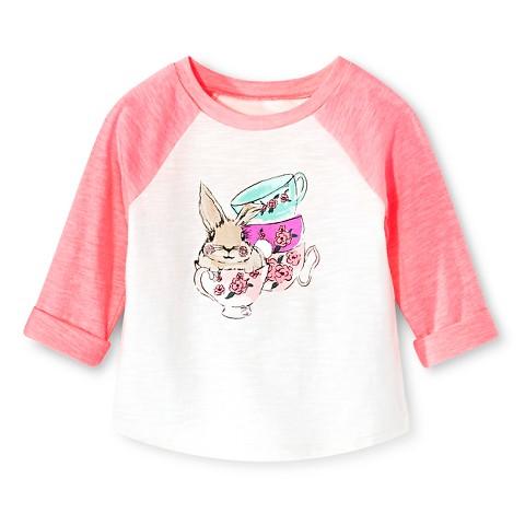 Toddler Girls T Shirt Pink Cherokee Tar