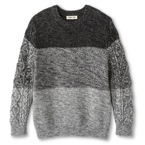 Boys' Colorblock Cable Sweater - Cherokee®