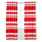 "Sabrina Soto Ele Lined Curtain Panel - Coral (84"")"