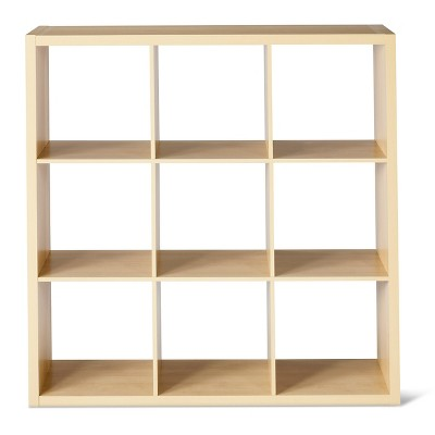 "9-Cube Organizer Shelf 13"" - Birch - Threshold™"