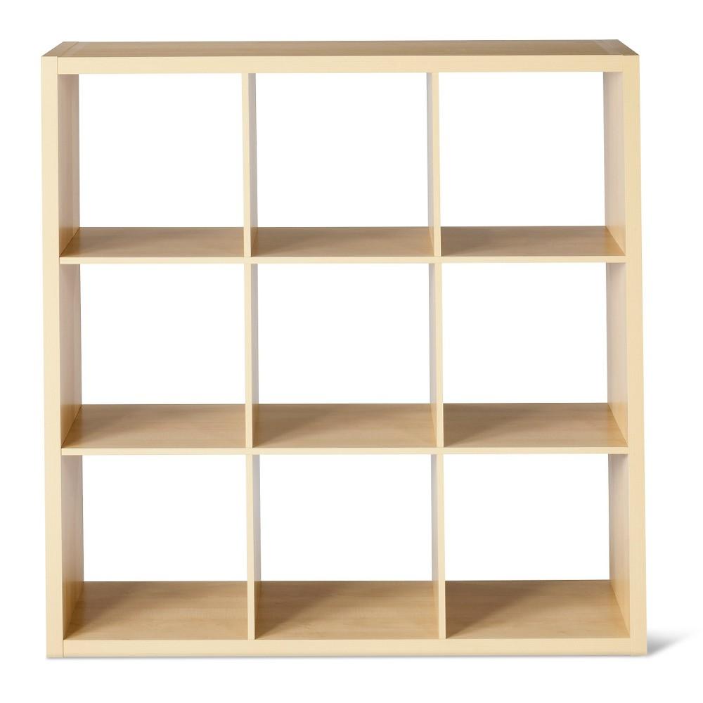 9-Cube Organizer Shelf 13 - Birch (Brown) - Threshold