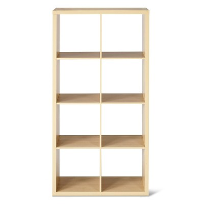 "8-Cube Organizer Shelf 13"" - Birch - Threshold™"