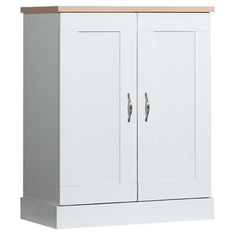 akadahome kitchen base 3 shelf pantry cabinet product details page