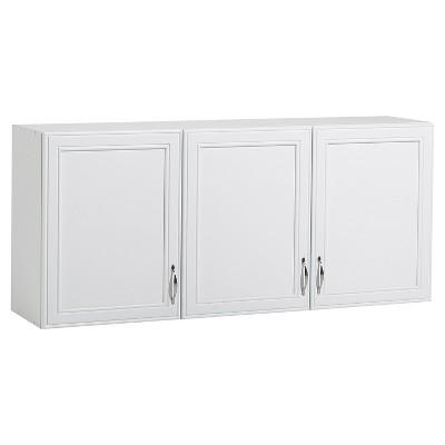 Akadahome 3 Door Wall Cabinet - White