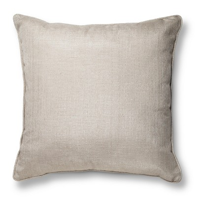 Oversized Metallic Throw Pillow - – Threshold™