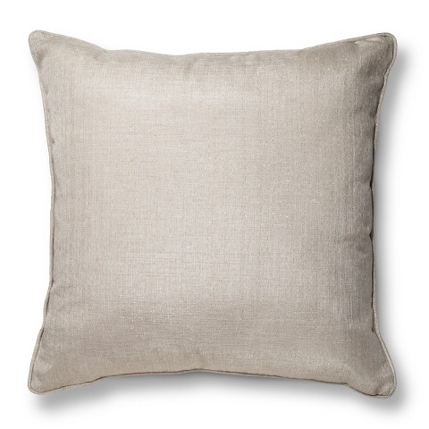 Oversized Metallic Throw Pillow Threshold Target