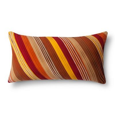 Oversized Lumbar Pillow Warm Stripe – Threshold™