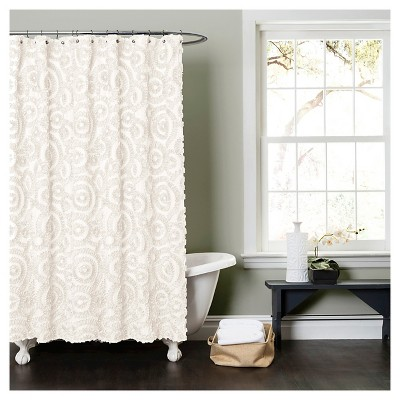Shower Curtain Solid Ivory