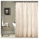 Modern Chic Shower Curtain - Ivory