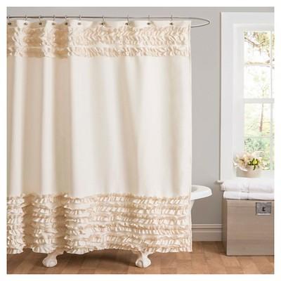 Skye Shower Curtain - Ivory