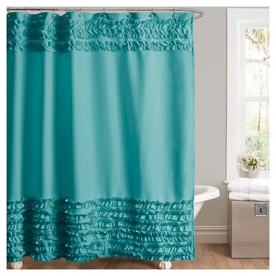 Skye Shower Curtain - Turquoise