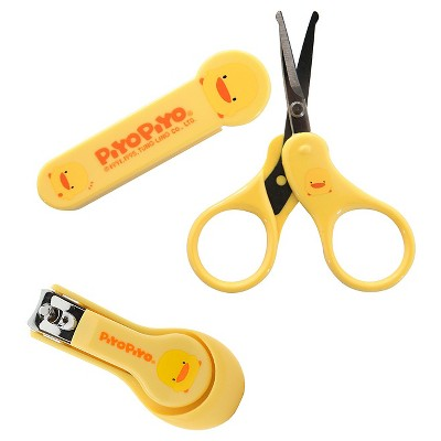 Piyo Piyo Nail/Scissors Care Kit - Yellow