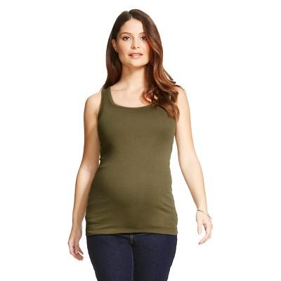 Maternity Tank Top - Wreath Green M - Liz Lange® for Target