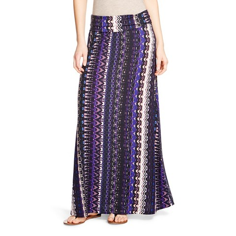 printed maxi skirt mossimo supply co target