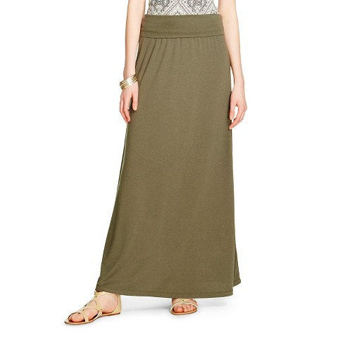 s knit maxi skirt mossimo supply co j target