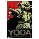Art.com Star Wars Yoda Jedi Master Pop Art Mounted Print