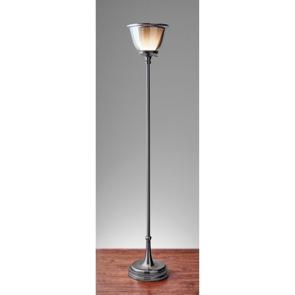 Adesso Kent Floor Lamp Black