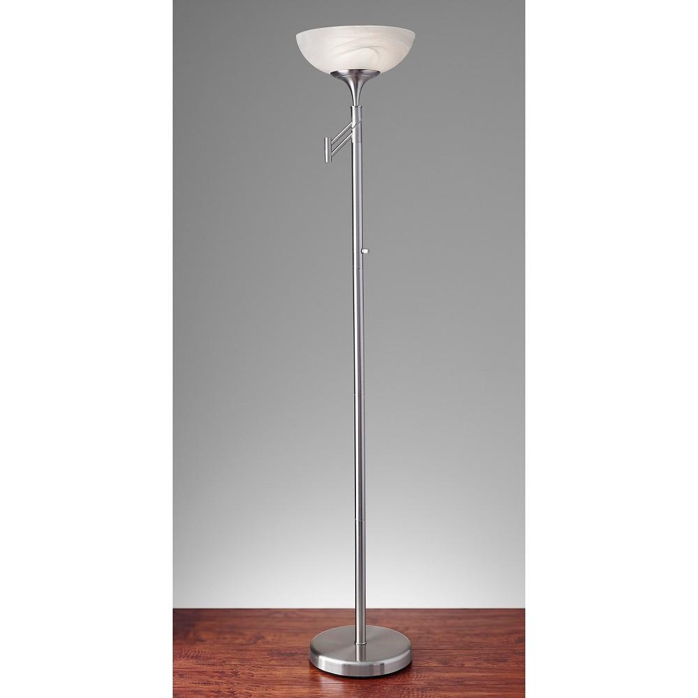 adesso swing floor lamp