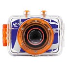 Nerf 5MP Action Flash Memory Digital Camcorder with 4X Digital Zoom - Multicolored