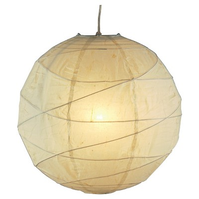 Adesso Orb Small Pendant 4 PK - Natural