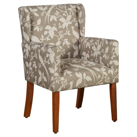 HomePop Accent Chair Platinum Tar