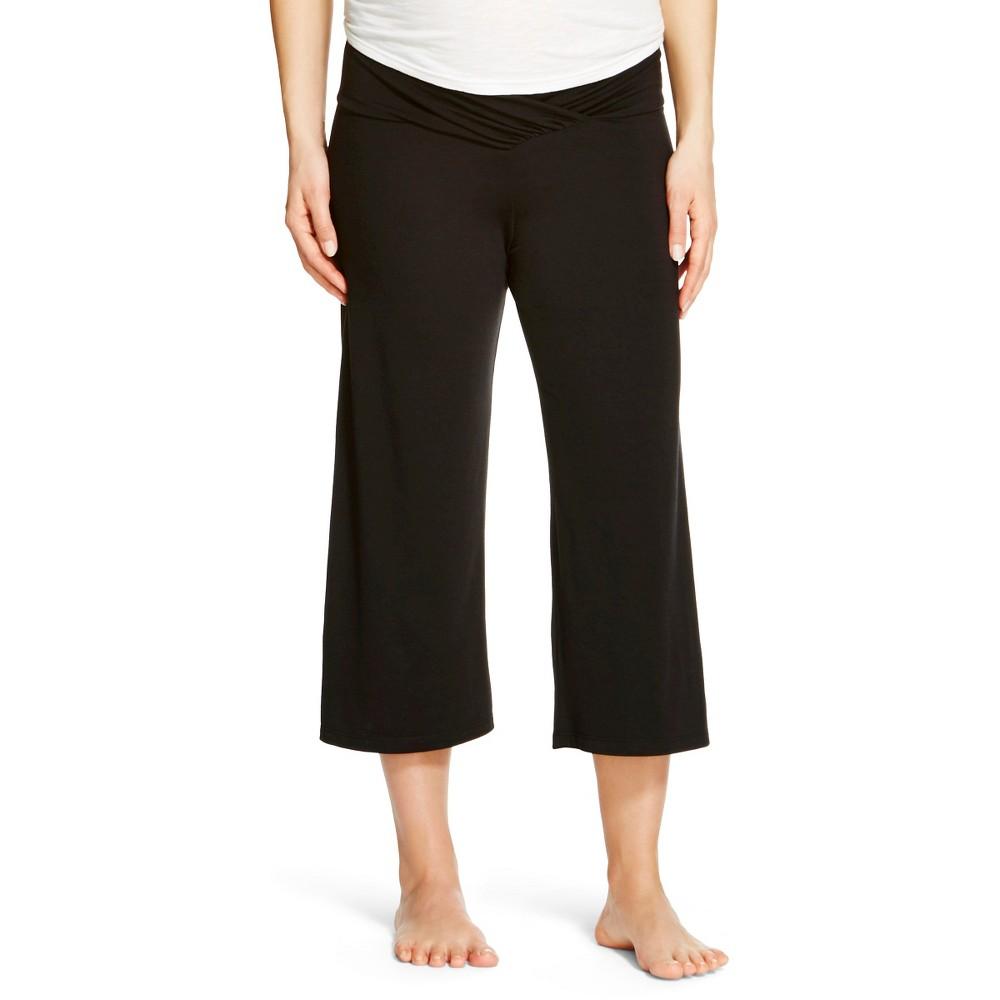 Eve Alexander Women's Maternity Gaucho Pant S Black, Size: Small